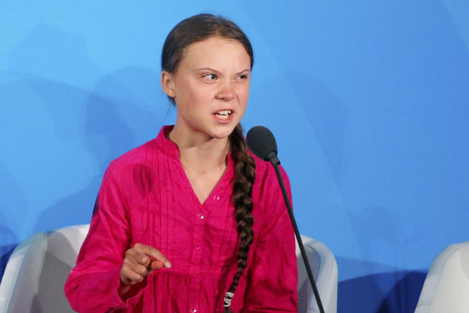 «Greta n'est plus seule, comme au début du mouvement qu'elle a lancé. En Inde, en Ouganda, au Sénégal, en Argentine, aux Etat-Unis, en Pologne, en Russie et dans tant d'autres pays, des jeunes se sont levés» (Greta Thunberg, le 23 septembre, aux Nations unies).