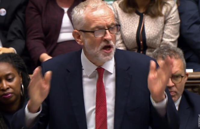 Jeremy Corbyn, le leader du Labour