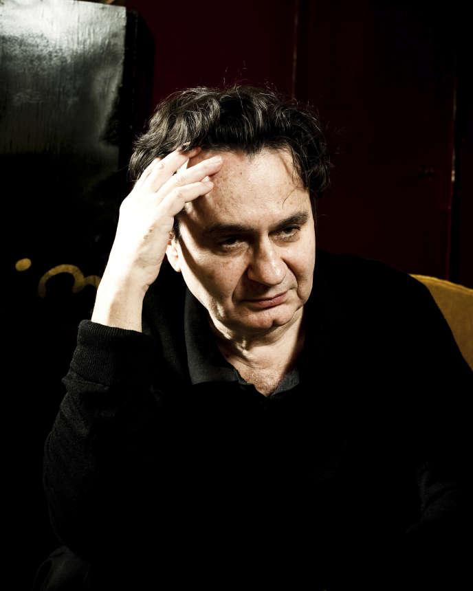 L'écrivain Morgan Sportès, à Paris, en 2014.