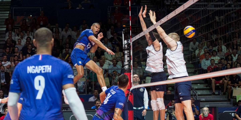 Euro de volley : Stéphen Boyer, la force de frappe des Bleus