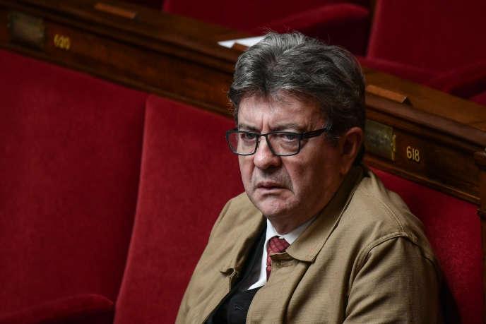 Jean-Luc Mélenchon, à l'Assemblée nationale, le 25 septembre.