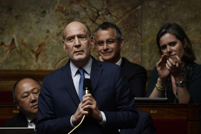 Le député LRM du Val-de-Marne, Jean-Jacques Bridey, à l'Assemblée nationale, en mai 2018.