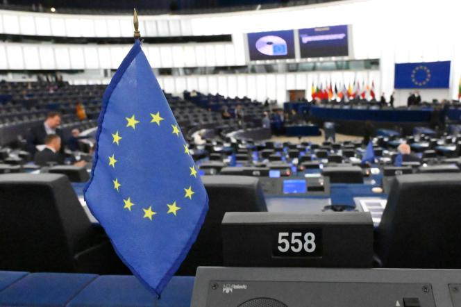 Le Parlement européen à Strasbourg, le 17 septembre.