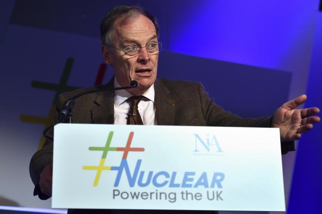 Vincent de Rivaz, patron d'EDF au Royaume-Uni à l'époque, a porté le projet Hinkley Point. Ici, le 3 décembre 2015 à Londres.