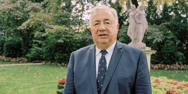 Le moment Gérard Larcher