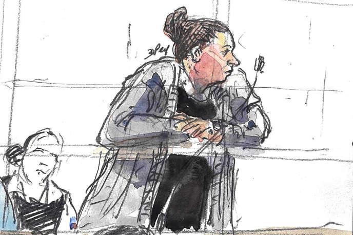 Inès Madani a été condamnée le 14 octobreà trente ans de prison pour sa participation à l'attentat raté près de Notre-Dame en 2016.