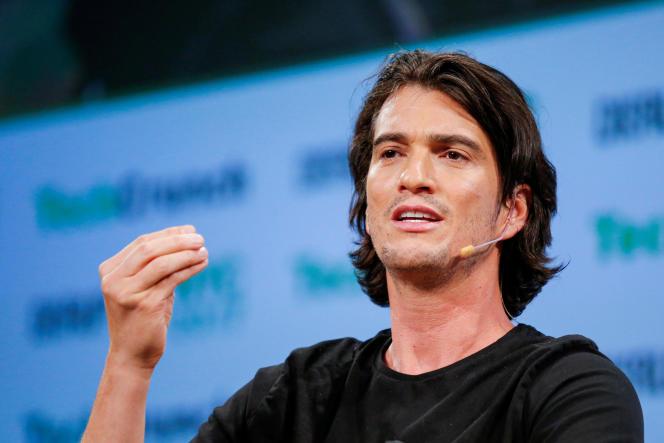 Adam Neumann, cofondateur de WeWork, à New York, en mai 2017.