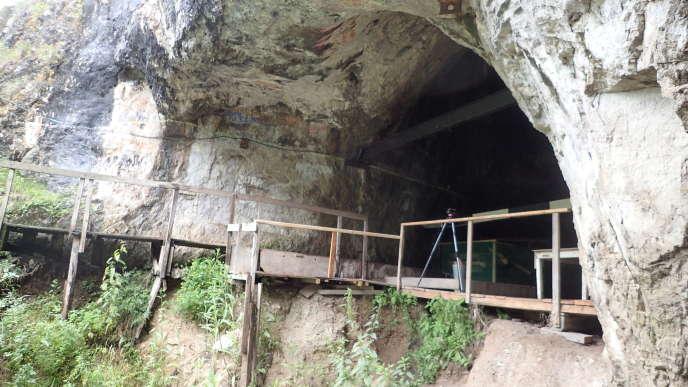 La grotte de Denisova (Altaï russe), qui, il y a 300 000 ans abritait déjà des homininés, a été majoritairement occupée par des grands carnivores.