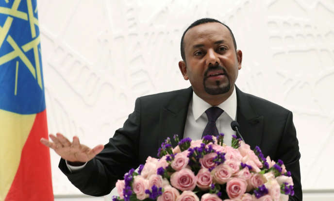 Le jeune premier ministre éthiopien Abiy Ahmed, à Addis-Abeba, le 1er août 2019.