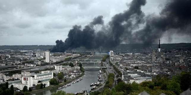 Incendie de Lubrizol: l'Anses recommande de poursuivre les prélèvements sur les denrées alimentaires pendant un an