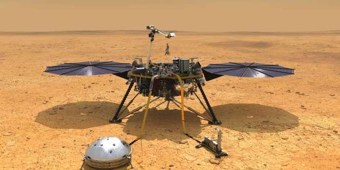 Etranges sursauts magnétiques sur Mars et autres infos scientifiques