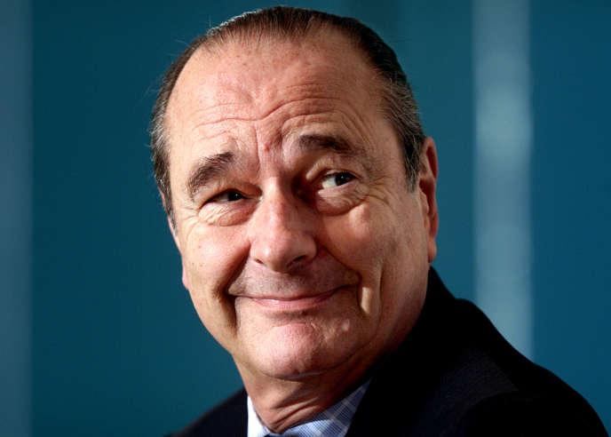 Jacques Chirac à Stokholm(Suède), en mars 2001.