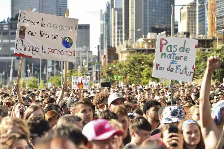 Il s'agissait de l'une des plus grosses manifestations jamais organisées au Canada.