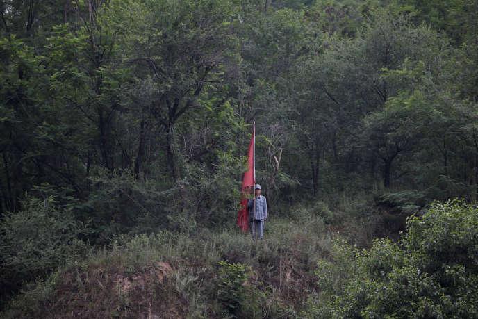 Le site historique de Yan'an (province du Shaanxi), qui a servi de refuge à Mao Zedong de 1935 à 1948, est devenu un lieu de pèlerinage communiste.