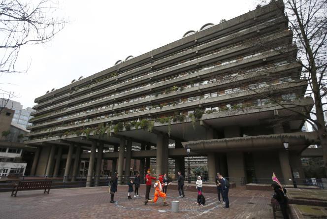 Le centre Barbican.