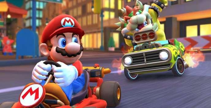 Mario Kart Tour Sur Mobile Dérapage Semi Contrôlé