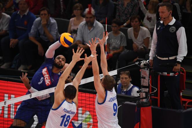 A une marche d'une finale à domicile, les Bleus d'Earvin Ngapeth tombent face à la Serbie 3 sets à 2.