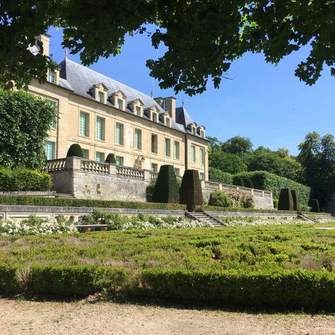 Le château d'Auvers-sur-Oise.