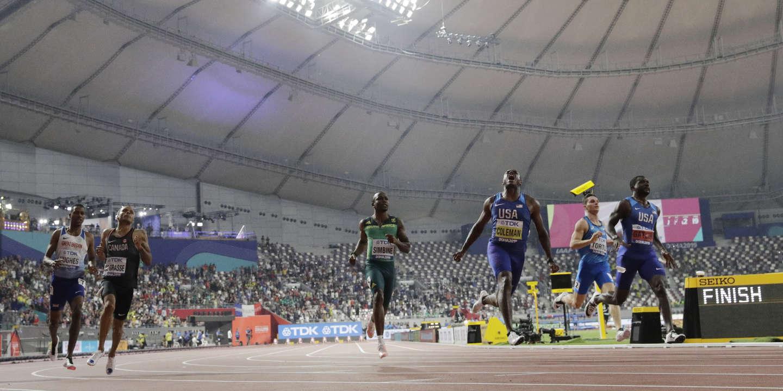 Mondiaux d'athlétisme : Christian Coleman, maître d'un 100 m presque confidentiel à Doha