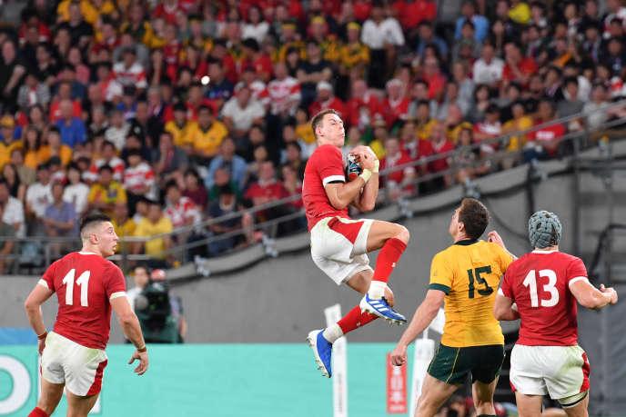 Rugby Liam Williams et les Gallois ont dominé les Australiens.