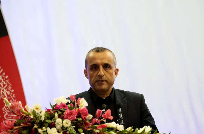 Amrullah Saleh, à Kaboul, en Afghanistan, le 13 septembre.