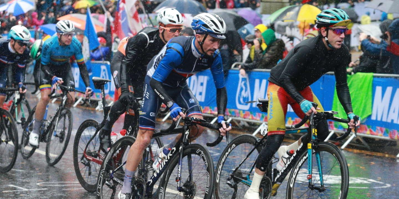 Championnat du monde de cyclisme : « journée de souffrance » pour Alaphilippe et les Bleus