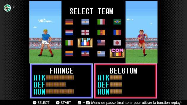 La France est meilleure au football que la Belgique. C'est scientifique, c'est « Super Soccer» sur Switch qui le dit.
