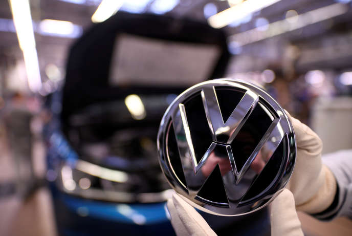 Au siège de Volkswagen, à Wolfsburg (Basse-Saxe, nord de l'Allemagne), le 1er mars.