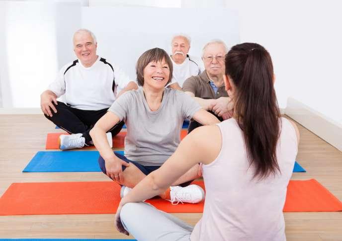 L'action sociale collective se décline sous la forme de sorties et d'activités en groupe, entre retraités.