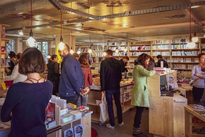 La Cavale, une librairie coopérative à Montpellier.