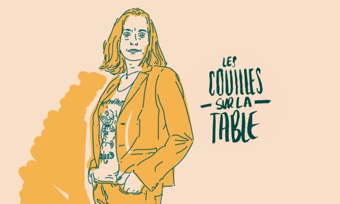 Portrait de Virginie Despentes réalisé pour l'émission à podcaster« Les couilles sur la table».