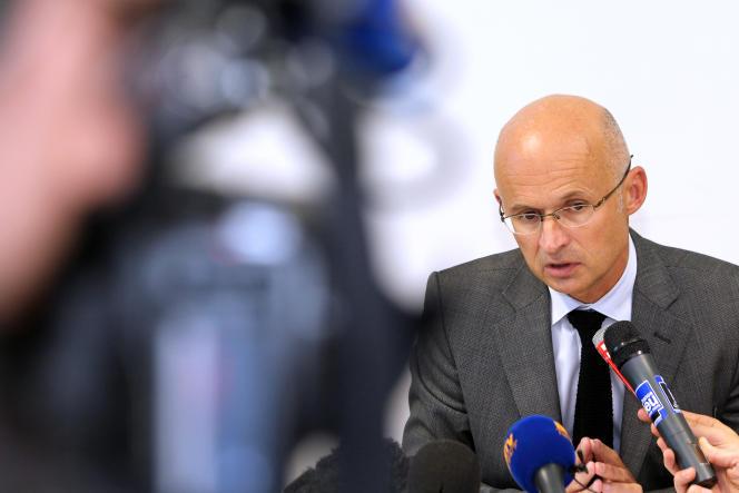 Xavier Bonhomme, ici en 2012, a été choisi pour remplacer Jean-Michel Prêtre au parquet de Nice.
