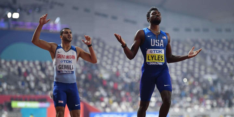 Mondiaux d'athlétisme : ultrafavori, l'Américain Noah Lyles remporte le titre sur 200 m