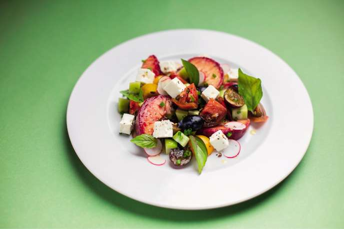 La salade des vignes d'Eric Morain.