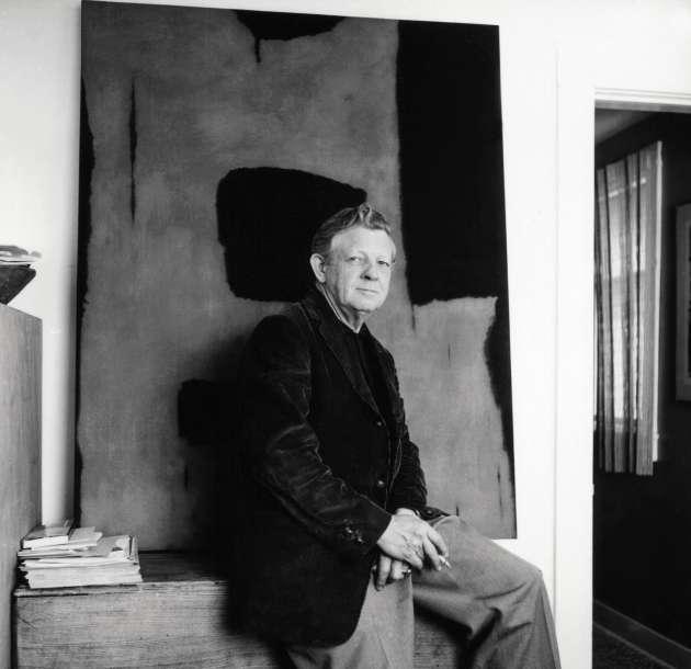 Charles Pollock à Okemos, dans le Michigan, en 1960.
