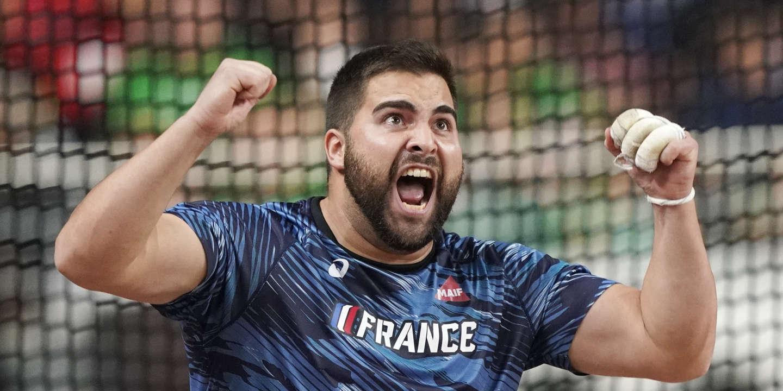 Mondiaux d'athlétisme : Quentin Bigot, première médaille française au lancer du marteau