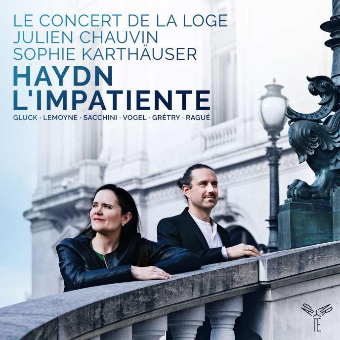 Pochette de l'album« L'Impatiente», de Haydn.