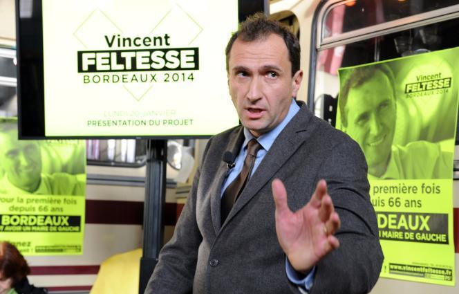 Vincent Feltesse, à Bordeaux, le 20 janvier 2014.