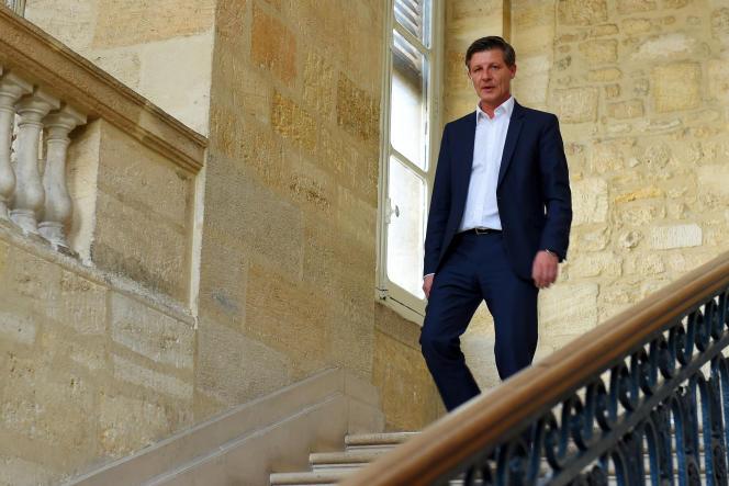 Nicolas Florian, à la mairie de Bordeaux, le 5 mars 2020.