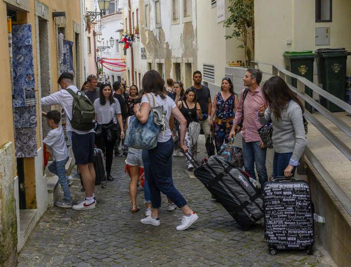 A Lisbonne, en juin.