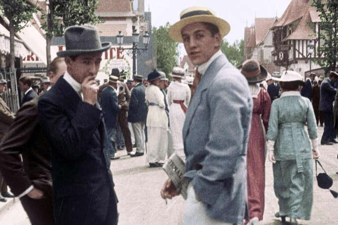 «Une si Belle Epoque ! La France d'avant 1914», documentaire de Hugues Nancy, écrit avec la collaboration de Dominique Kalifa (conseiller historique).
