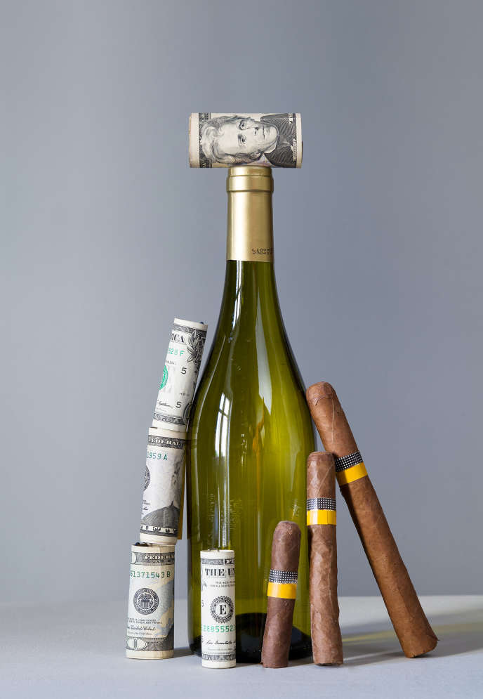 Les négociants en vin.