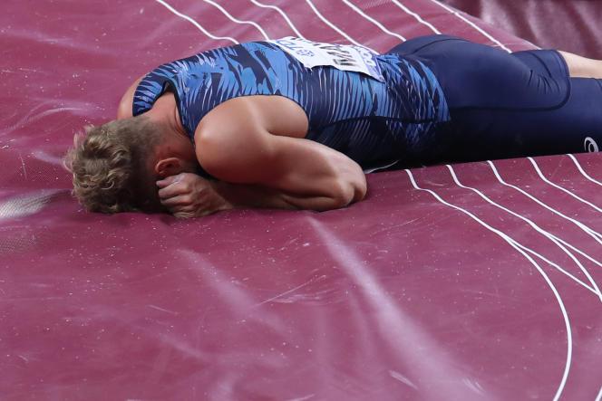 A Doha, c'est toute l'équipe de France qui s'est retrouvée à terre.