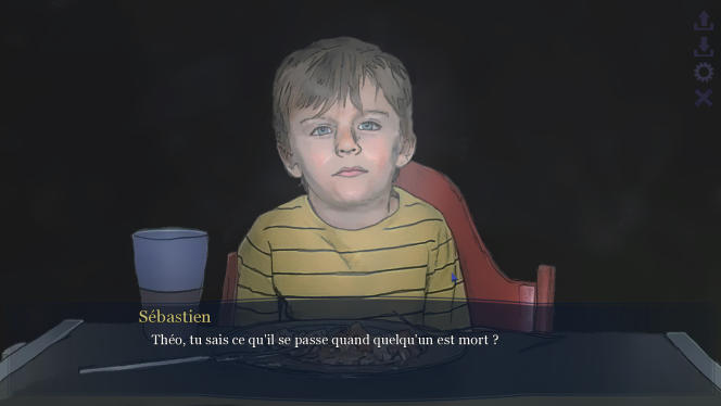 Le jeu repose sur des choix et des dilemmes. Ceux qui se présentent face à un parent tentent d'expliquer la mort à un enfant.