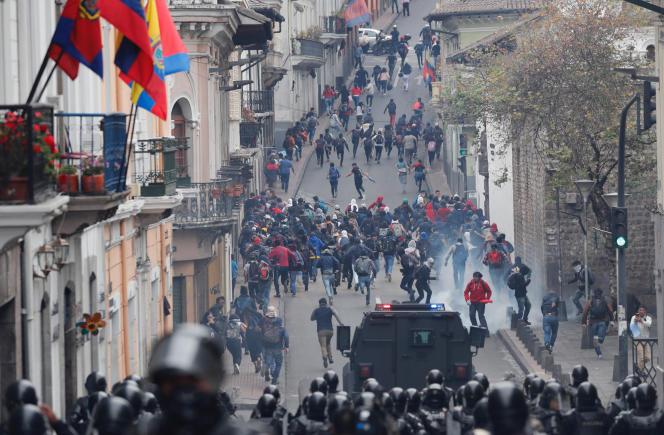 A Quito, en Equateur, le 3 octobre.