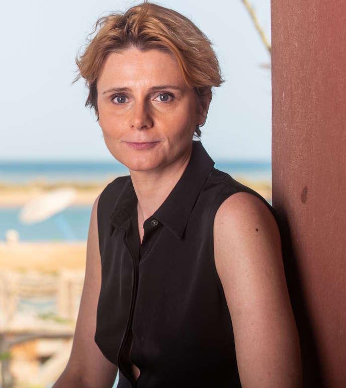 Caroline Fourest au El Gouna Film Festival (GFF), en Egypte, le 21 septembre.