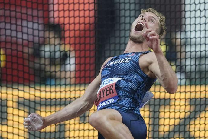 Mondiaux D Athlétisme Le Décathlonien Kevin Mayer Vaincu