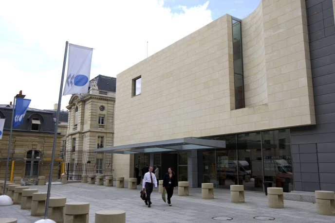Le siège de l'OCDE, à Paris.