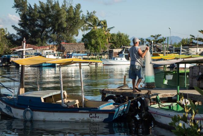 Le port de pêche de Cienfuegos.