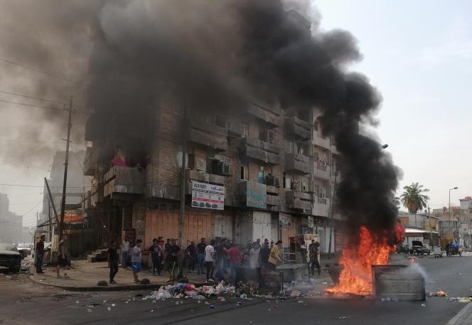 A Bagdad, le 2 octobre.